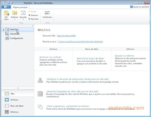 WebMatrix image 6