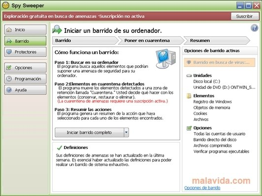 Webroot Spy Sweeper image 4