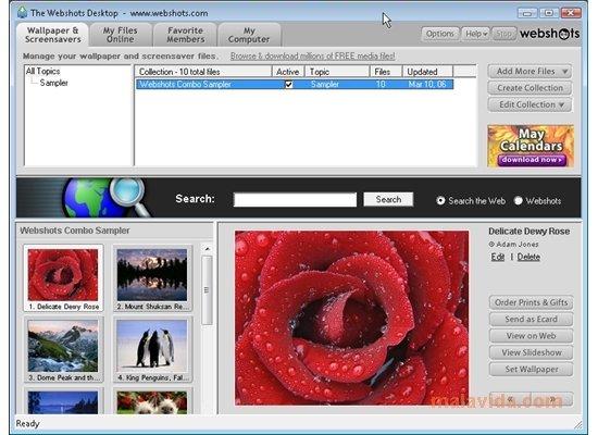 Webshots En Espanol