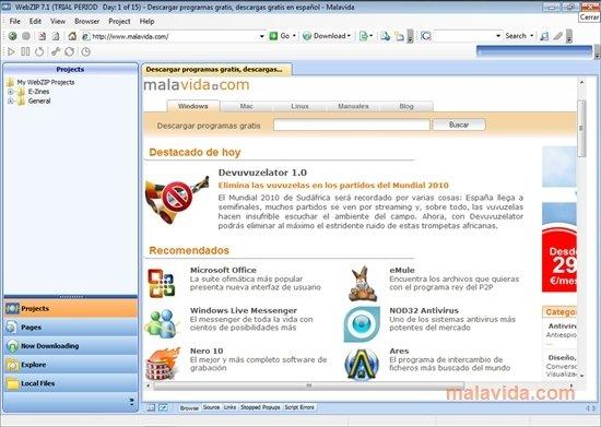 WebZIP image 4