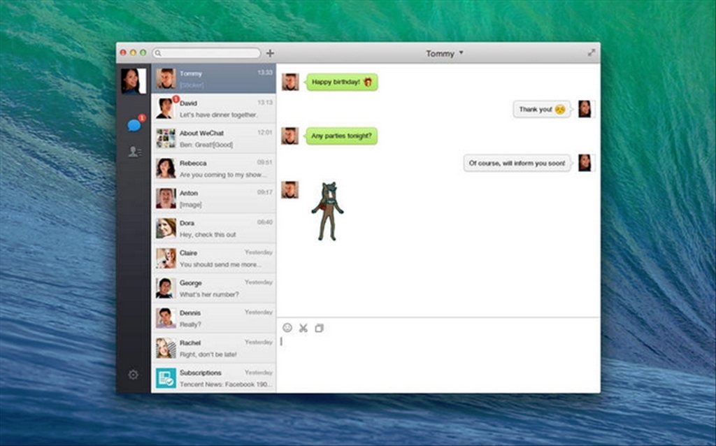 WeChat Mac image 3