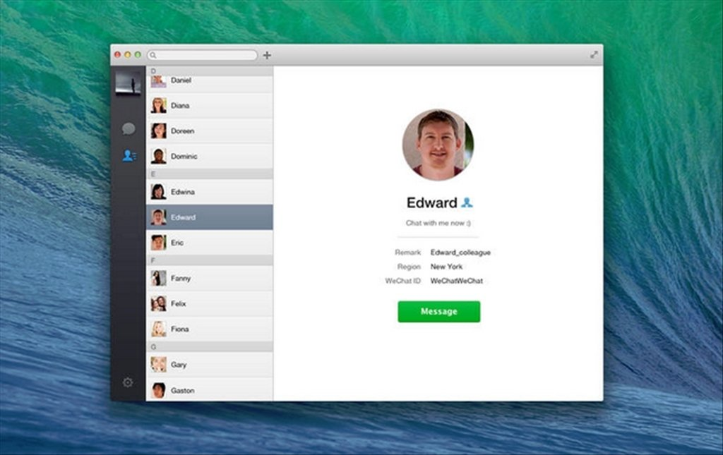 WeChat 2 3 24 17 - Download for Mac Free
