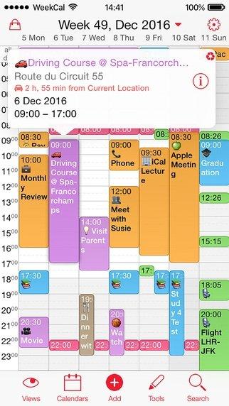 Week Calendar - Download for iPhone Free