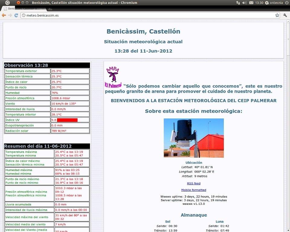 weeWX Linux image 3