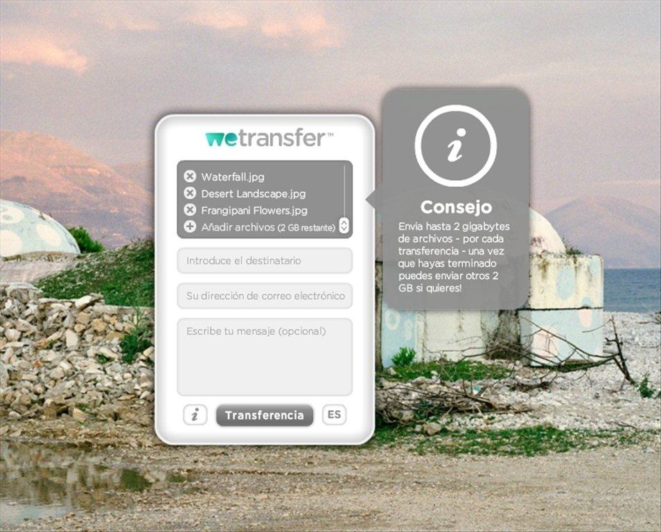 WeTransfer Webapps image 5