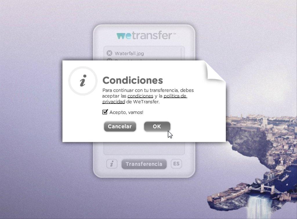 wetransfer online in italiano gratis