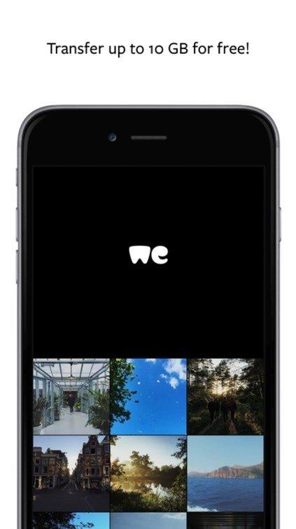 WeTransfer iPhone image 5