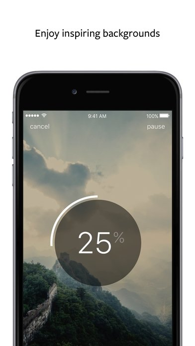 un fichier wetransfer sur iphone