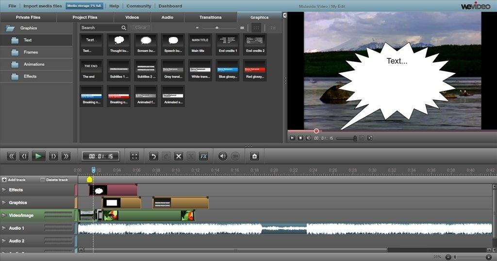 WeVideo Webapps image 5