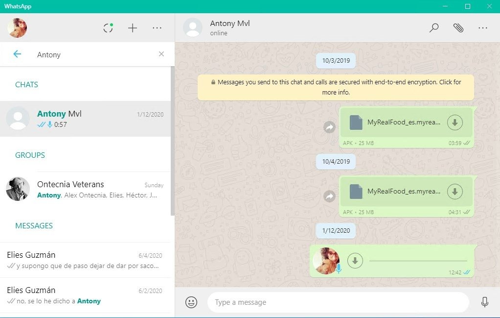 WhatsApp Messenger 0 3 4479 - Download for PC Free