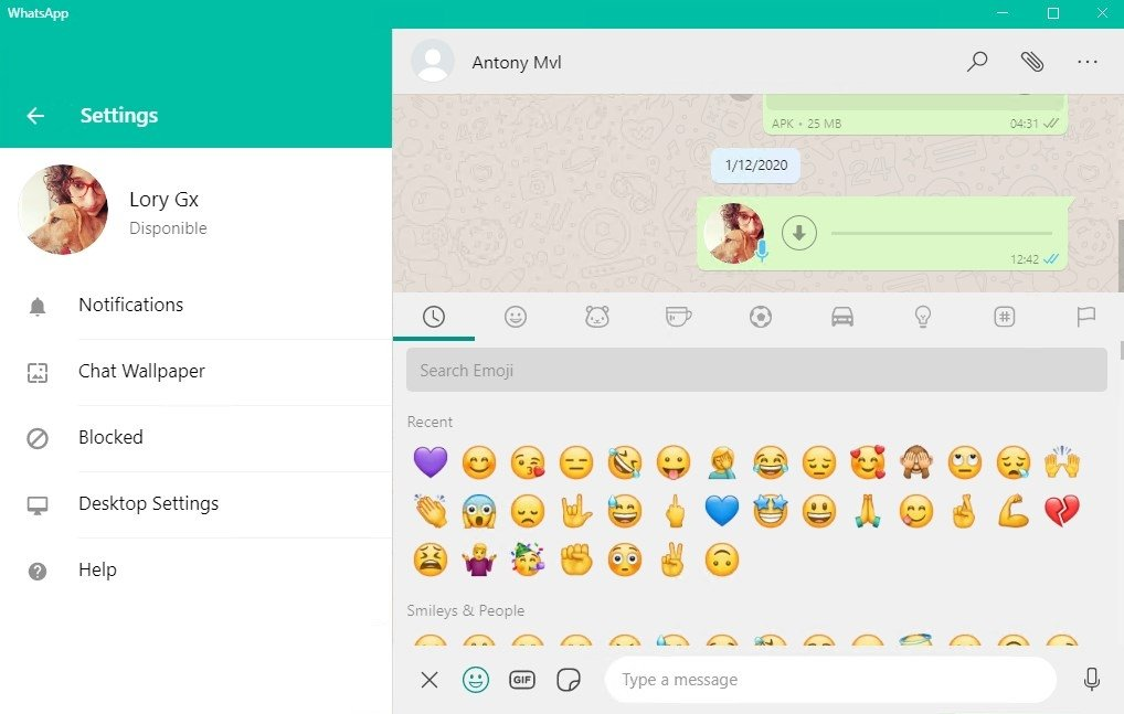 whatsapp web application download for pc