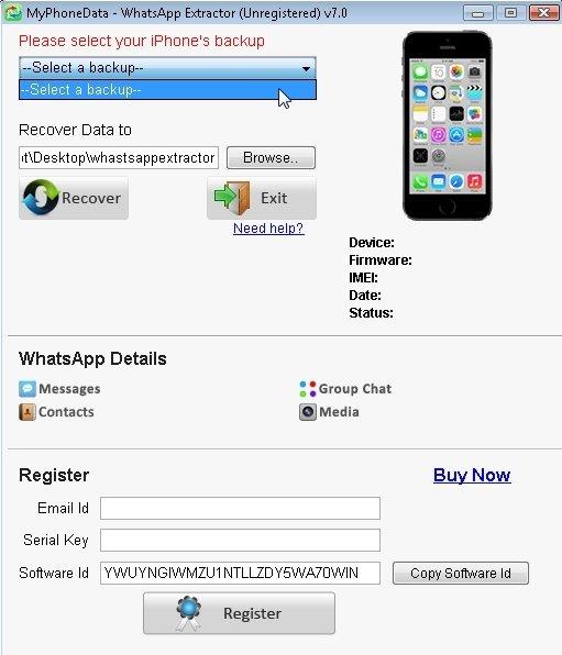 WhatsApp Extractor