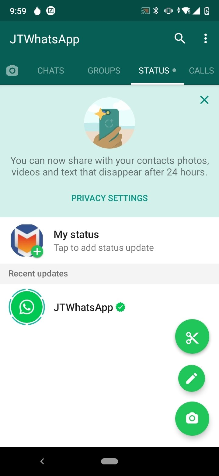 WhatsApp+ JiMODs (JTWhatsApp) 8 0 - Download for Android APK