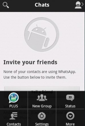 WhatsApp PLUS Holo Android image 4