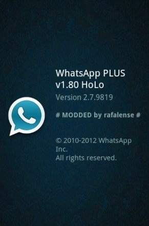 whatsapp plus holo 3.17
