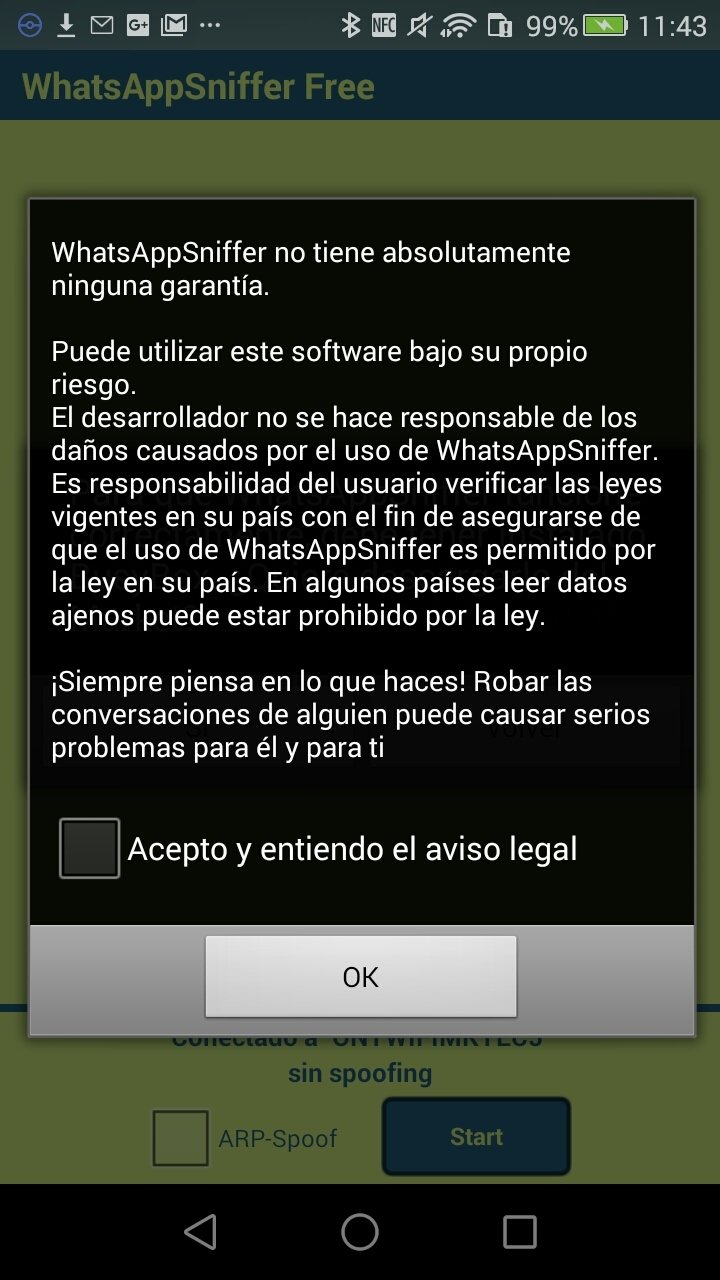 WhatsApp Sniffer Android image 6