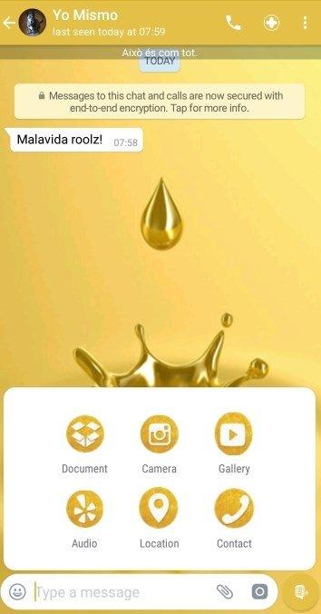 whatsapp gold version apk free download