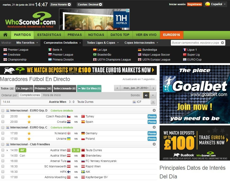 WhoScored Webapps image 5