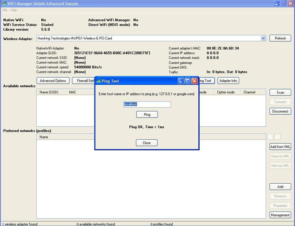 WiFi-Manager SDK 5 9 - Download for PC Free