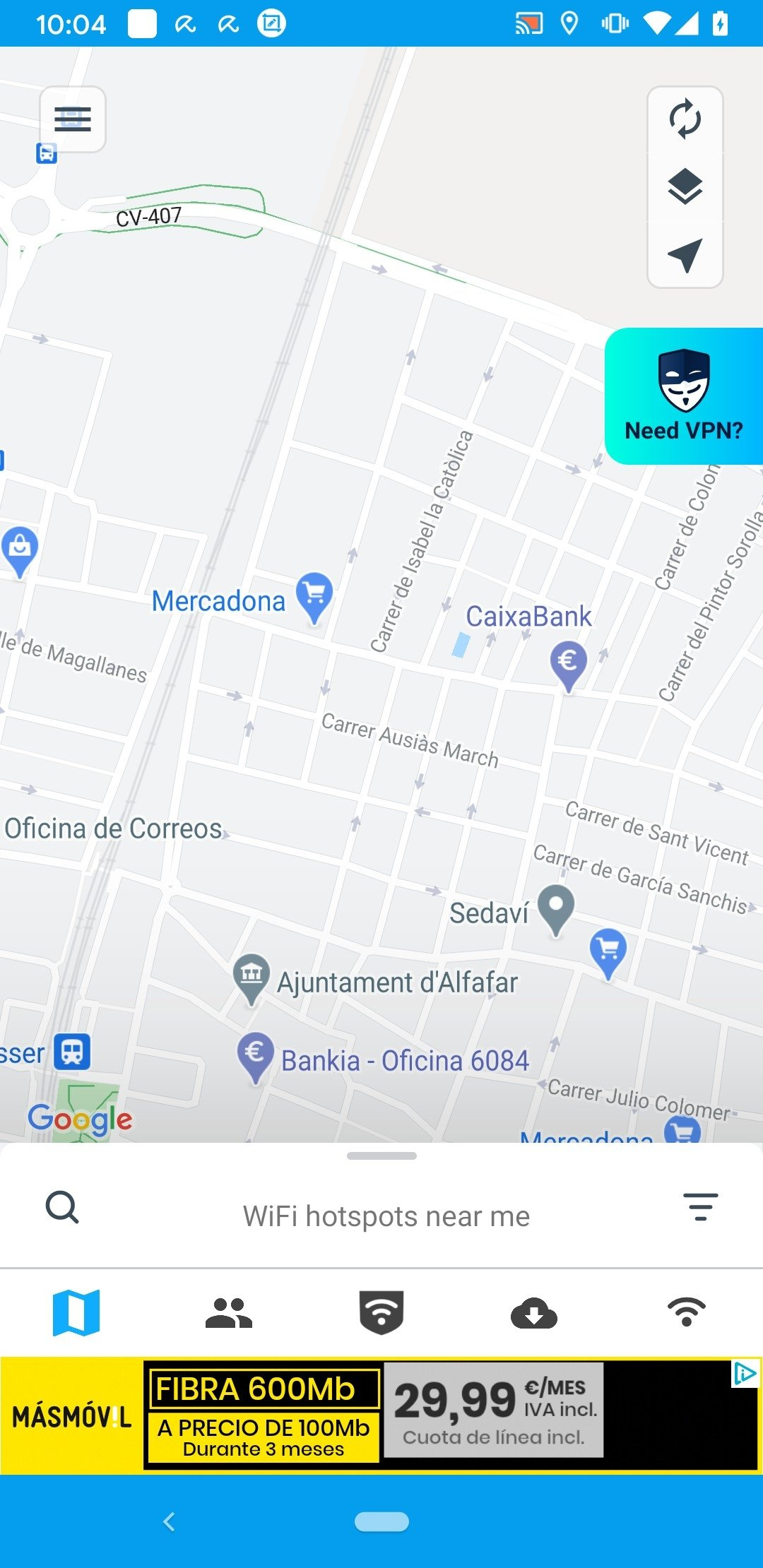 WiFi Map Android image 5