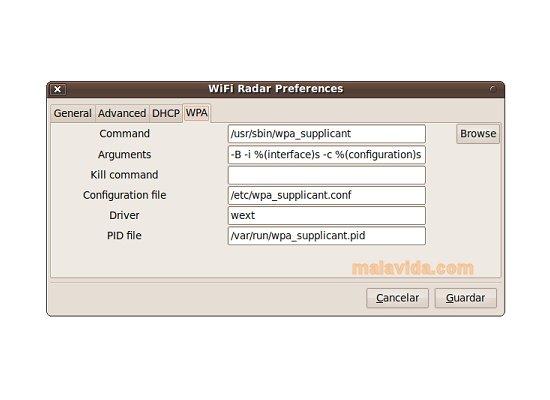 WiFi Radar Linux image 4