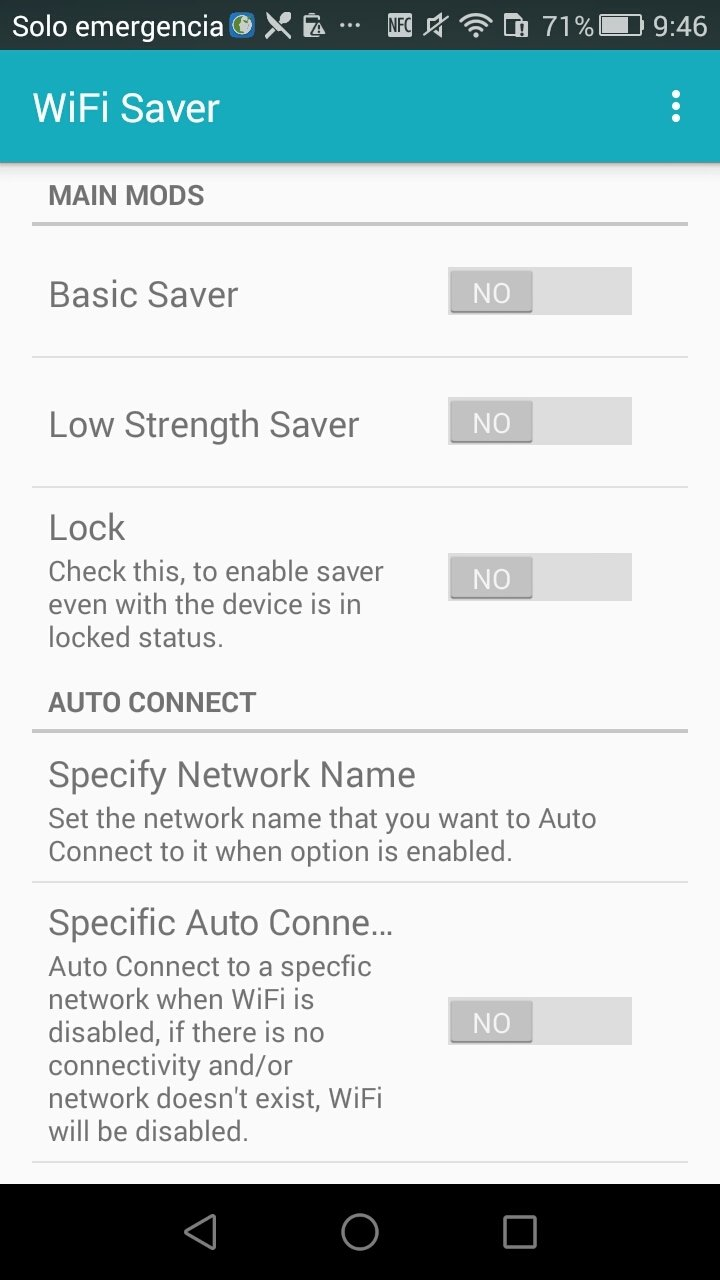 WiFi Saver Android image 4