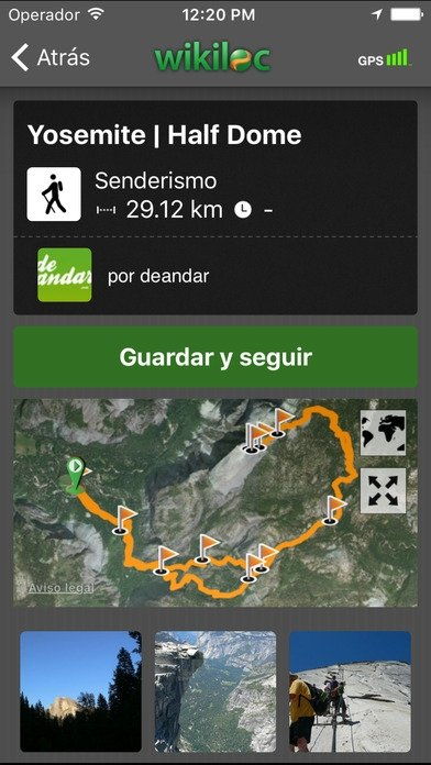 Wikiloc Outdoor Navigation GPS iPhone image 5