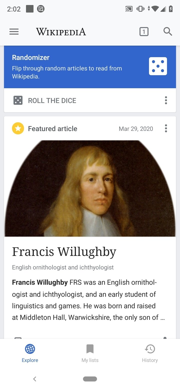 Wikipedia Android image 4