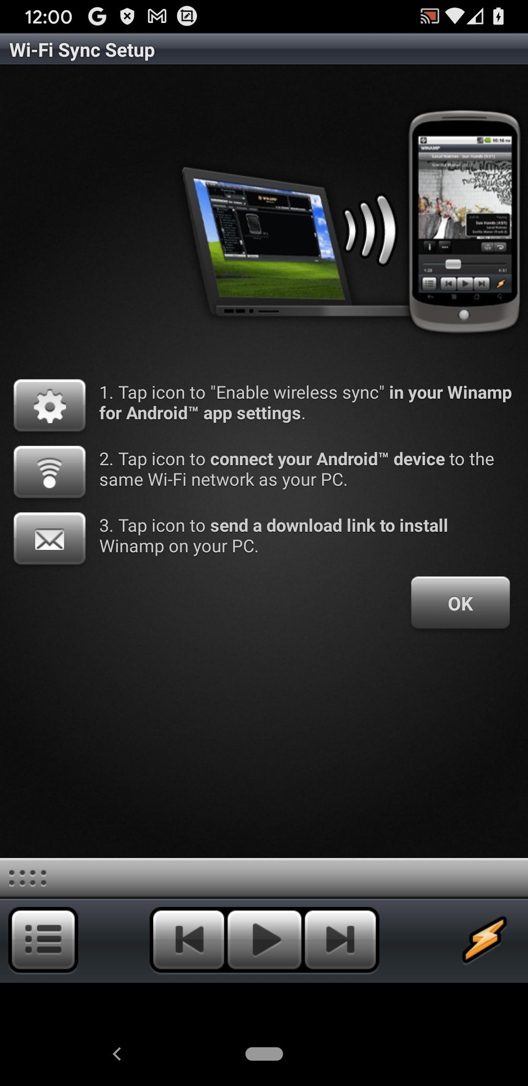 winamp android download full version