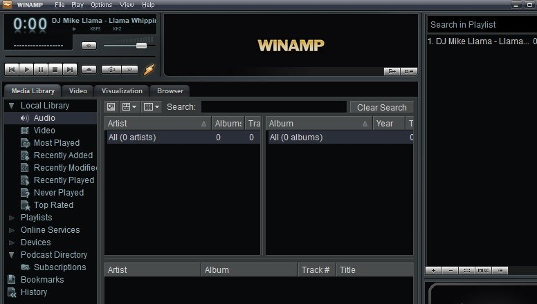 End of an era] winamp is shutting down on december 20, 2013 askvg.