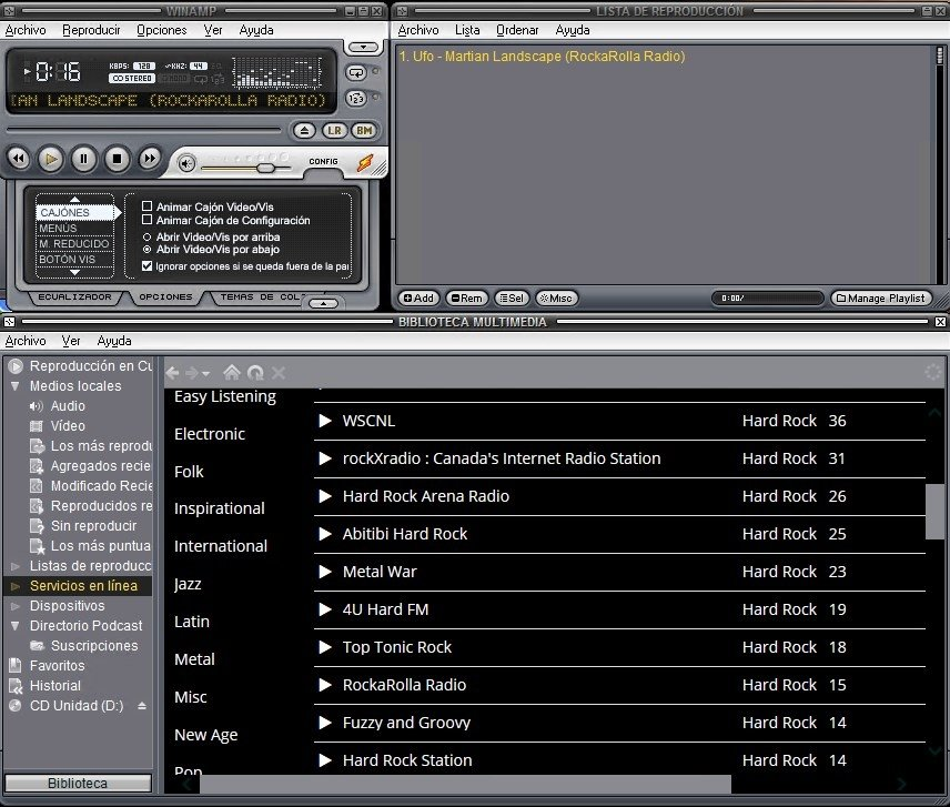 Winamp change. Org petition gets 25,000 signatures, fans start.