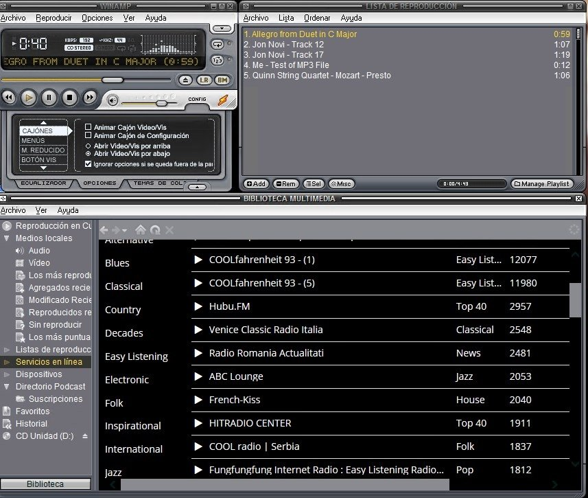 winamp mp3 player for android free download