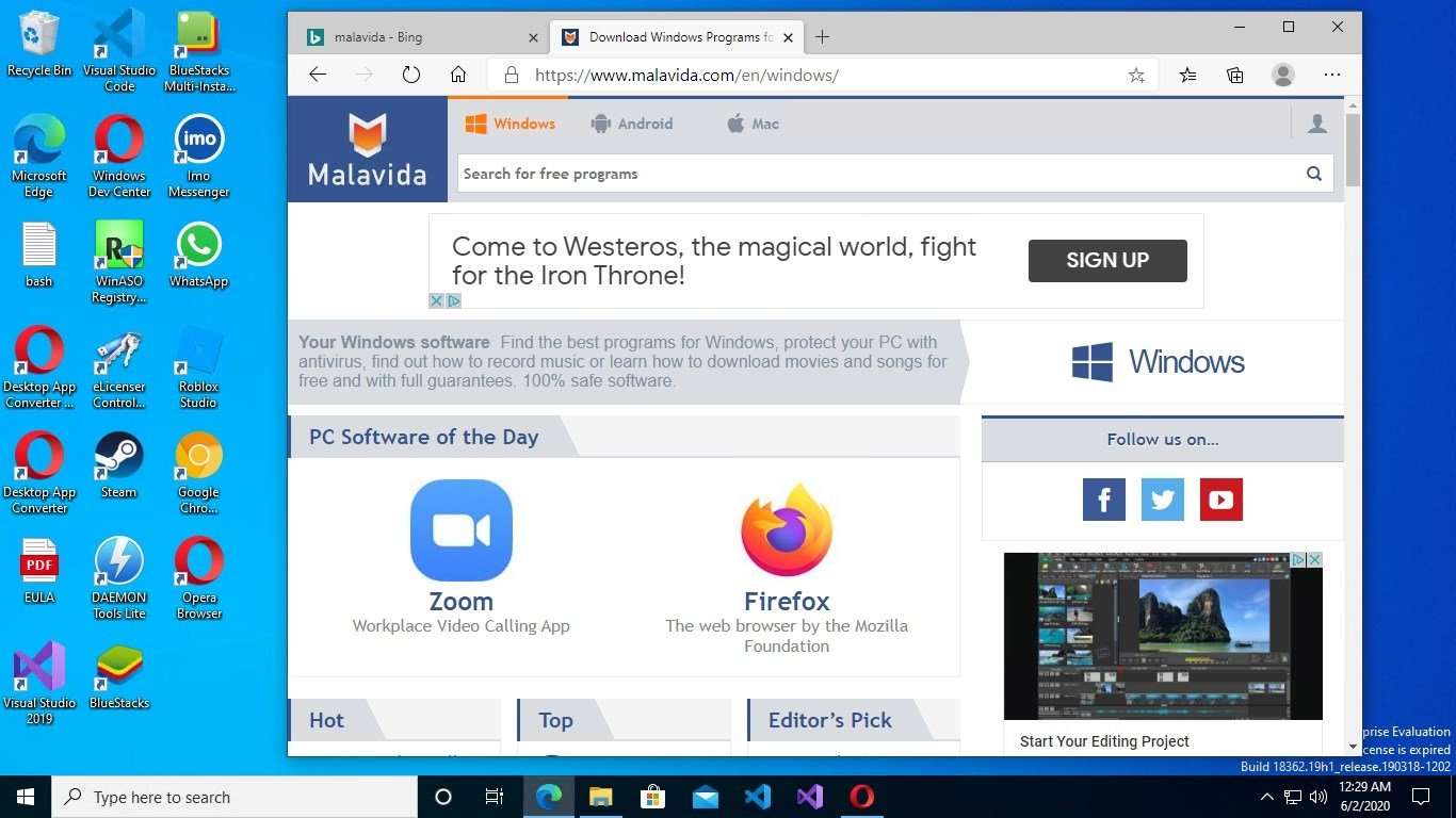 Windows 10 1809 - Download for PC Free