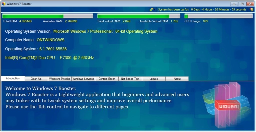 Windows 7 Booster image 5