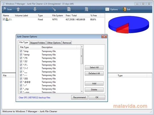 Windows 7 Manager 5 1 9 - Download for PC Free