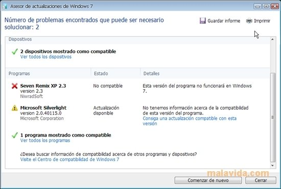 Windows 7 Upgrade Advisor image 5