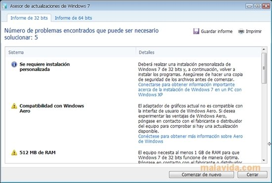 Windows 7 Upgrade Advisor 2 0 4000 0 - Download for PC Free