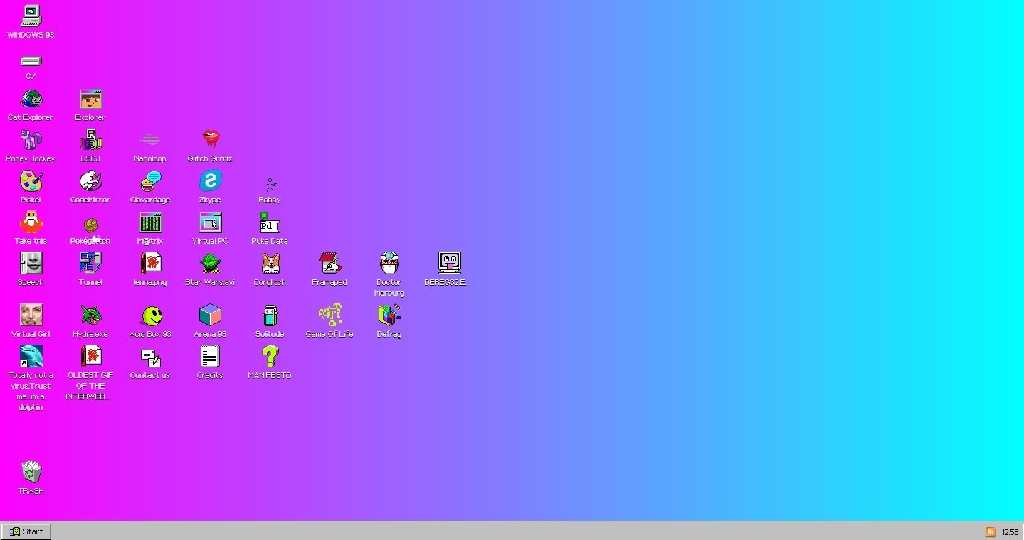 Windows 93 Webapps image 5