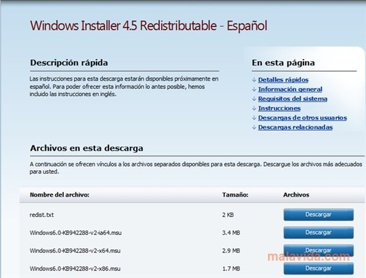 Windows Installer 4 5 - Download for PC Free