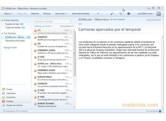 Bonjour à tous, Un ami ayant involontairement efface son Windows Live Mail, sa réinstallation pose problème avec le raccourci d'origine. Microsoft à arrêté la possibilité du téléchargement de Windows Essentials et du coup de Windows Live Mail :