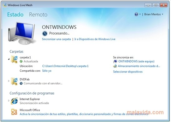 Download windows live mesh 2011 15. 4. 3555. 308.