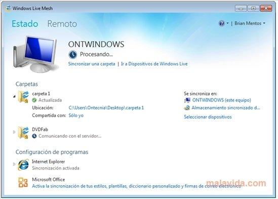 Windows Live Mesh image 4
