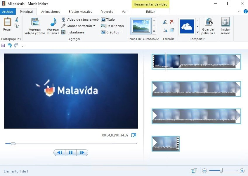 Windows Live Movie Maker image 4