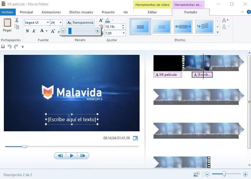 Windows Movie Maker 2012