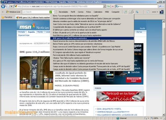 PARA BAIXAR ATALHO MSN 2009