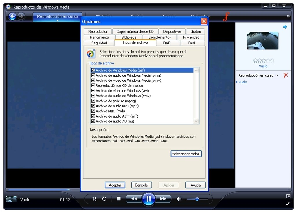 windows media player 11 e la convalida di windows xp