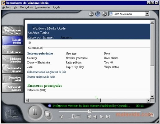 Windows Media Player 7 .1