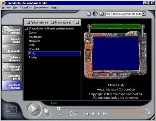 Windows Media Player 11 Windows - Descargar
