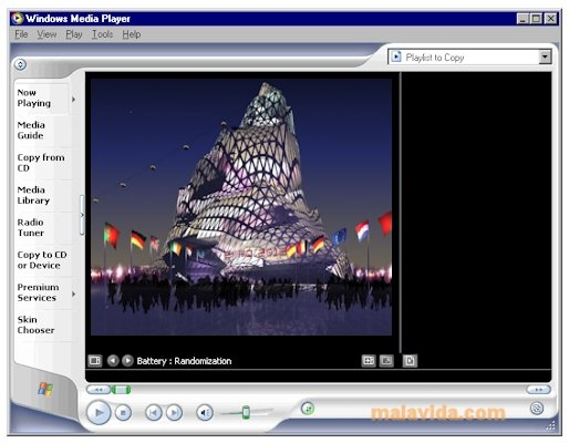 Windows Media Player 9 image 3