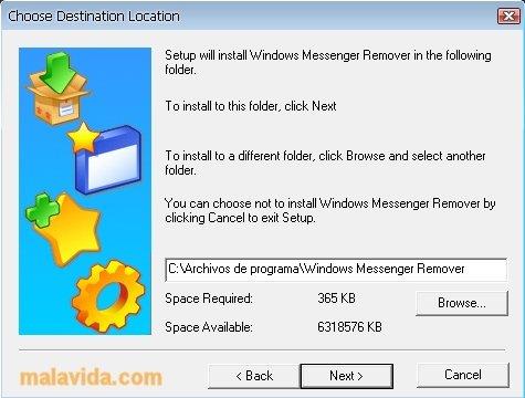 Windows Messenger Remover image 2